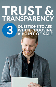 cover of white paper for choosing a point of sale